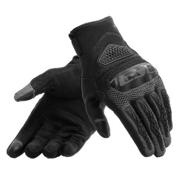 DAINESE kesztyű - BORA GLOVES BLACK/ANTHRACITE